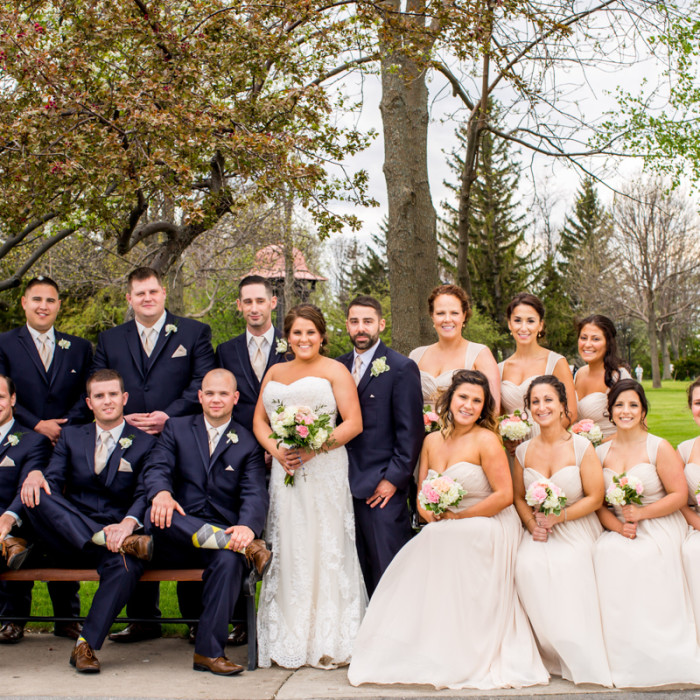 Brittany & Dave Wedding day, Wedding Photographer Syracuse NY